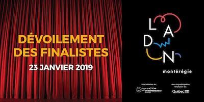Dévoilement des finalistes «LADN Montérégie» 2019