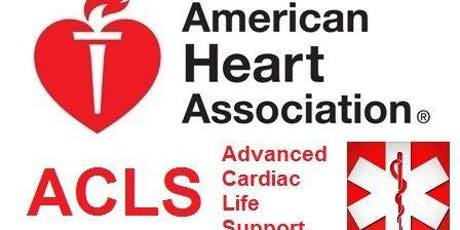 ACLS Course Aug. 20-21, 2019 (2 Day) tickets