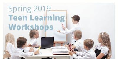 Teen+Learning+Workshops+%28Age+13-18%29