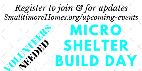 Smalltimore Homes Volunteer Build tickets