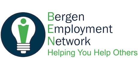 Bergen Employment Network Meeting tickets