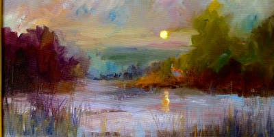Big Brush Watercolor Painting Workshop with Donna DeLaBriandais