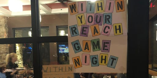 Within Your Reach Charity Game Night