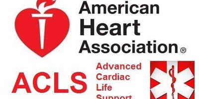 ACLS Course Dec. 9-10, 2019 (2 Day)