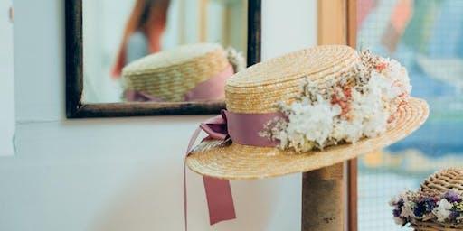 Boater Hat Decoration workshop Henley Royal Regatta