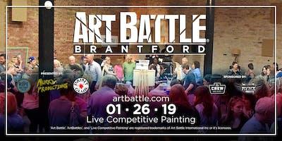 Art Battle Brantford - January 26, 2019