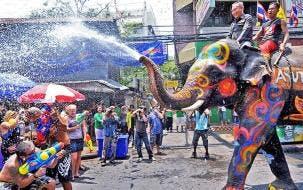 Thai New Year Festival (Songkran)