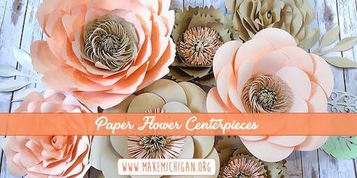 Paper Flower Centerpieces - Richland