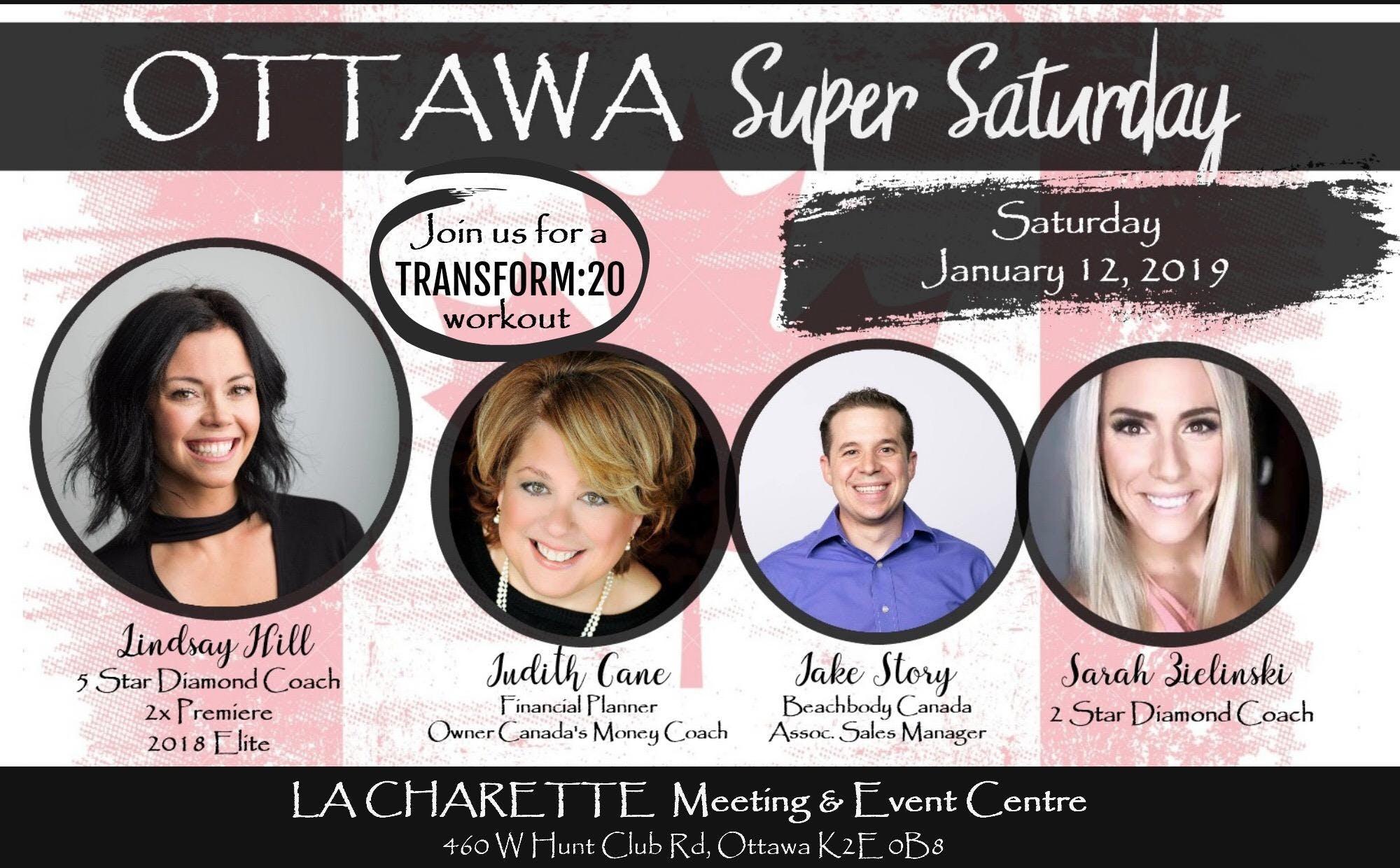 Ottawa Super Saturday - January 12, 2019
