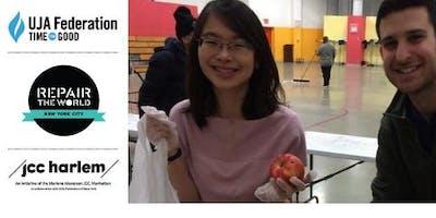 MLK 2019: Volunteer to Stock a Neighborhood Harlem Food Pantry on 1/18