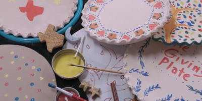 Pottery Workshop: The Giving Plate