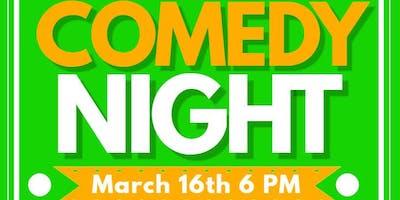 Hook & Ladder Corned Beef & Comedy Night