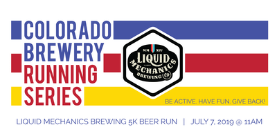 Beer Run - Liquid Mechanics Brewing 5k - Colorado Brewery Running Series