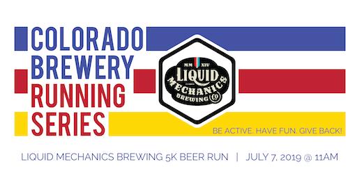 Beer Run - Liquid Mechanics Brewing 5k - Colorado Brewery Running Series