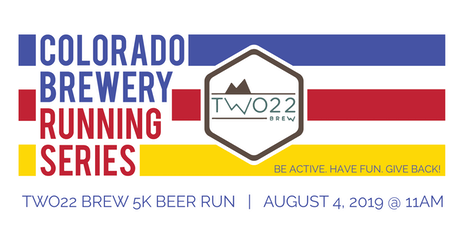 Beer Run - Two22 Brew 5k - Colorado Brewery Running Series tickets