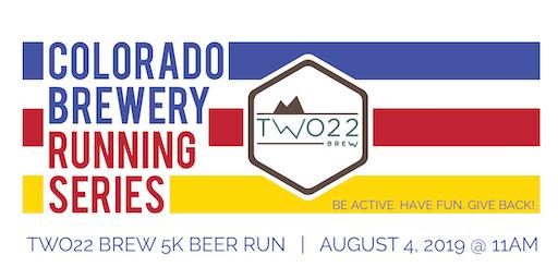 Beer Run - Two22 Brew 5k - Colorado Brewery Running Series