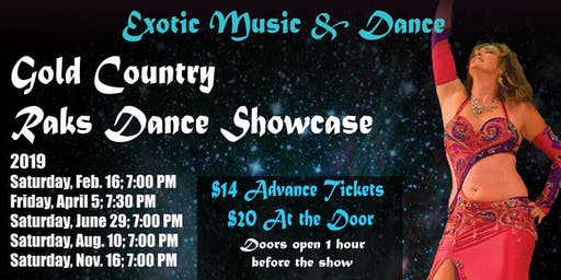 acf3e1390e Gold Country Raks Dance Showcase. APR