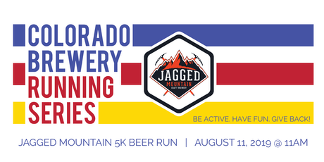 Beer Run - Jagged Mountain Craft Brewery 5k - Colorado Brewery Running Series tickets