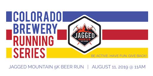 Beer Run - Jagged Mountain Craft Brewery 5k - Colorado Brewery Running Series