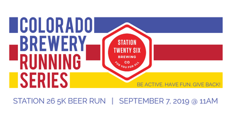 Beer Run - Station 26 Brewing 5k - Colorado Brewery Running Series tickets