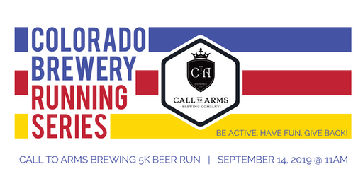 Beer Run - Call to Arms Brewing 5k - Colorado Brewery Running Series