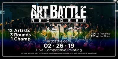 Art Battle Red Deer - February 26, 2019