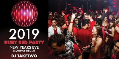RUBY RED PARTY - NYE 2019 Downtown Vancouver