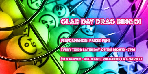 Glad Day Drag Bingo - Every Third Saturday of the Month
