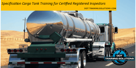 Cargo Tank Training for Qualified Registered Inspectors, McAllen, TX tickets