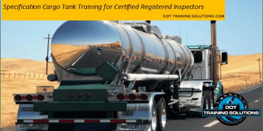 Cargo Tank Training for Qualified Registered Inspectors, McAllen, TX