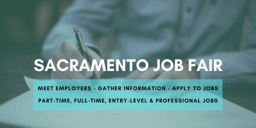 Sacramento Job Fair - September 23, 2019 Job Fairs & Hiring Events in Sacramento CA