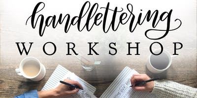 Creative Hand Lettering Workshop @ Paper Source Burlingame