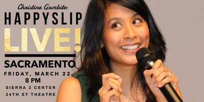 Christine Gambito - HappySlip LIVE in Sacramento!