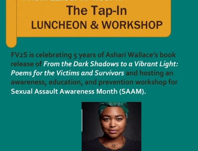 Ashari Wallace and FV2S Tap-In LUNCHEON & WOR