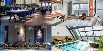 Post-Renovations Opening Party im Radisson Blu Hotel, Frankfurt