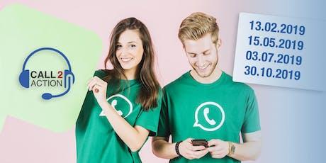 Call2Action: Baustein D –Verkaufsgesprächführung – Bei Anruf Termin Tickets