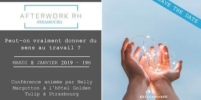 Afterwork RH Strasbourg : Donner du sens au travail