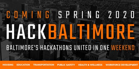 Hack Baltimore Sponsorship tickets