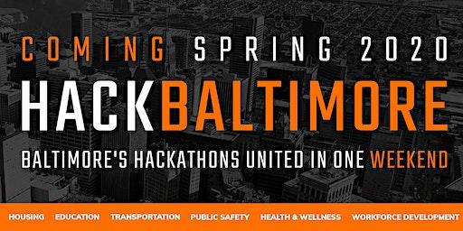 Hack Baltimore Sponsorship