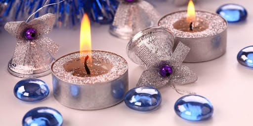 Crafty Carers - Candle Decoration