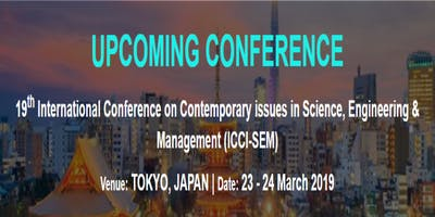 19th International Conference on Contemporary issu