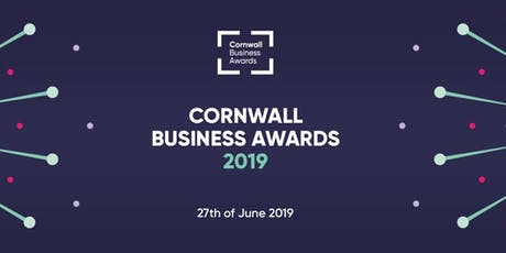 Cornwall Business Awards 2019  tickets