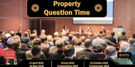 30th October Property Question Time  tickets