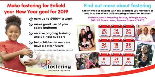 Find out about fostering with Enfield Council