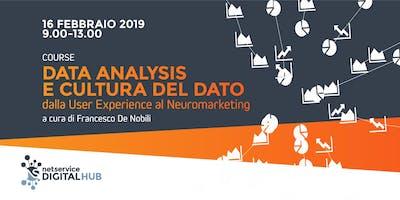 Data Analysis e cultura del dato I Bologna I 16 febbraio 2019