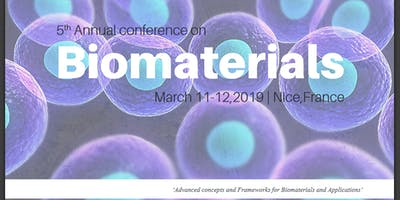 5th Annual Conference on Biomaterials (CSE)