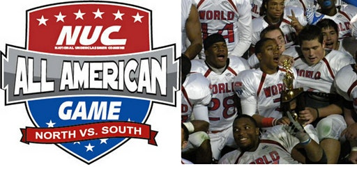 NUC All American Football Game Week December 27th-30th 2019 Panama City Beach, FL Player Registration