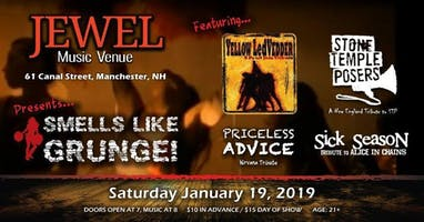 Smells Like Grunge! A Night of 90's Grunge Tributes