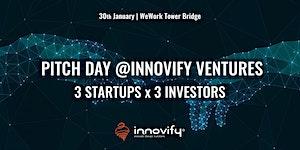 January Pitch Day @Innovify Ventures