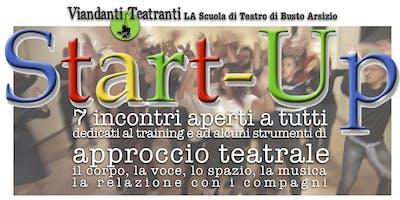 START-UP. Approccio al Teatro
